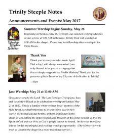 thumbnail of May 2017 Steeple Notes