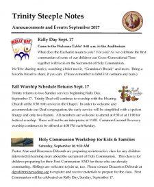 thumbnail of September 2017 Steeple Notes
