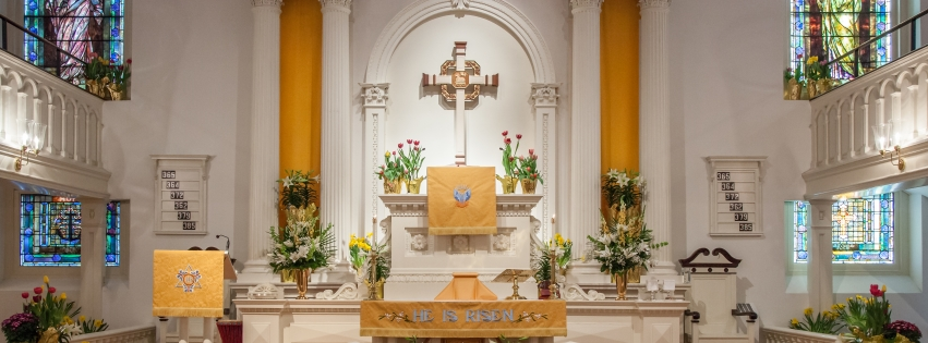 Easter at Trinity Lutheran Church