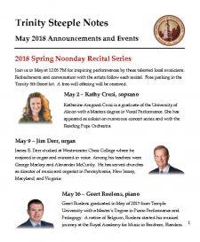 thumbnail of May 2018 Steeple Notes