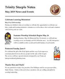 thumbnail of May 2019 Steeple Notes web edition
