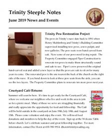 thumbnail of June 2019 Steeple Notes