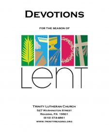thumbnail of Lent Devotions Booklet 2020 with color