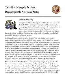 thumbnail of December 2020 Steeple Notes