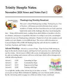 thumbnail of November 2020 Steeple Notes Pt 2