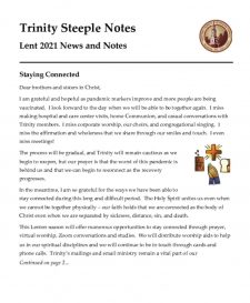 thumbnail of Lent 2021 Steeple Notes