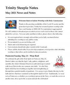 thumbnail of May 2021 Steeple Notes